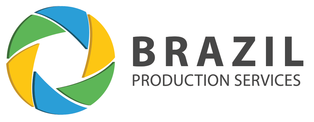 Logo tipo brazil production services