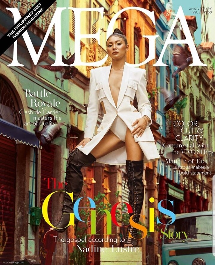 MEGA MAGAZINE: THE PHILIPPINE'S BEST FASHION MAGAZINE GOES TO BRAZIL FOR THEIR FEBRUARY 2020 COVER!