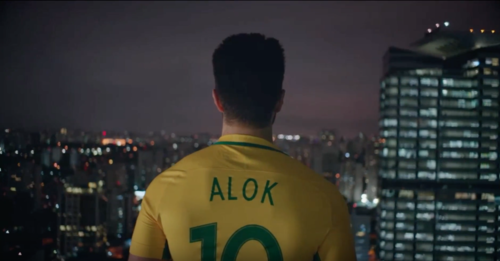 Dj Alok com camiseta do Brazil na Filmagem Viva Latino