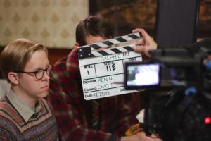 Ator principal do curta-metragem Ralphie em Los Angeles